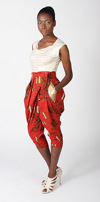 Nkwo cropped pants