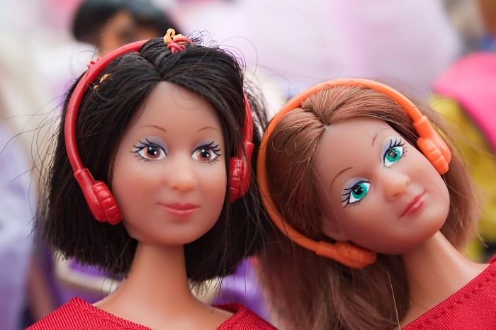 Barbie girls walkman