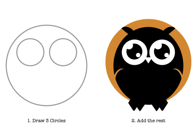 How to Create an Owl in Omnigraffle