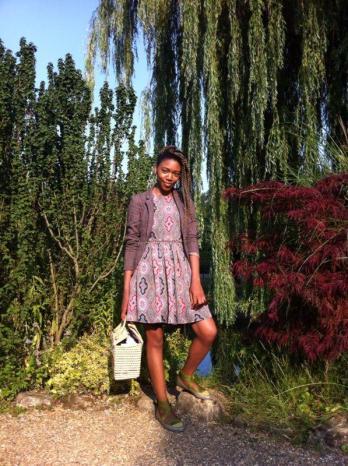 Antonia at Regent's Park